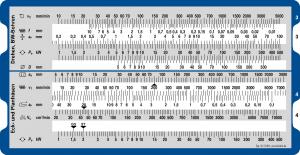 Schnittgeschwindigkeit Maschinenleistung Rückseite - Rechenschieber für die Ermittlung von Schnittgeschwindigkeiten und Maschinenleistungen beim Bohren, Drehen und Fräsen